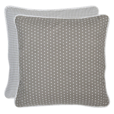 Beige Star Cushion