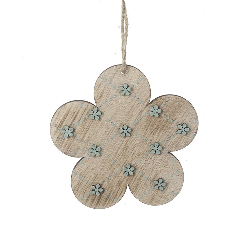 Wooden Flower Decoration