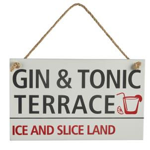 'Gin & Tonic' Sign