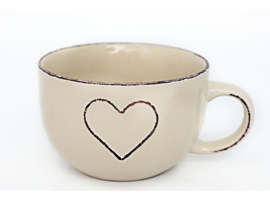 Large Heart Cup