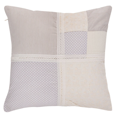 Pastle Patchwork Cushion