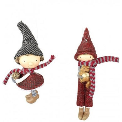 Individual Festive Child Hanging Decoration