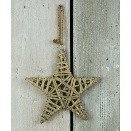 Small Wicker Star
