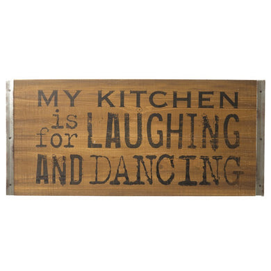 My Kitchen is for Dancing Sign