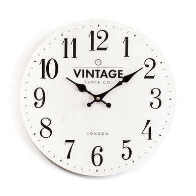 Large Cream Wall Clock