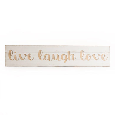 Huge Live Laugh Love Sign
