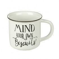 Mug - Mind Your Own Biscuits