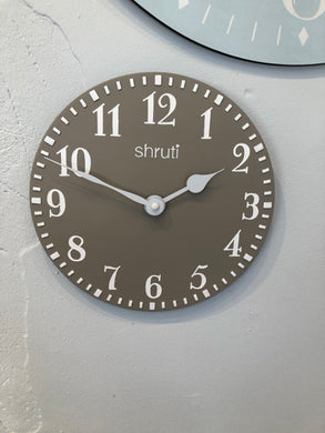 Moulded Wall Clock (29cm)