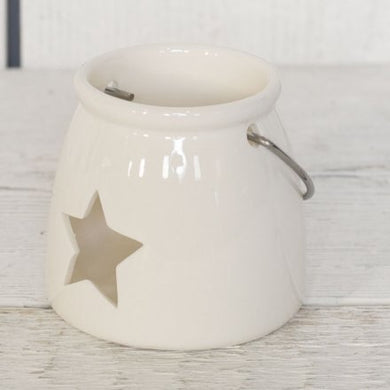 Ceramic Star Tealight Holder