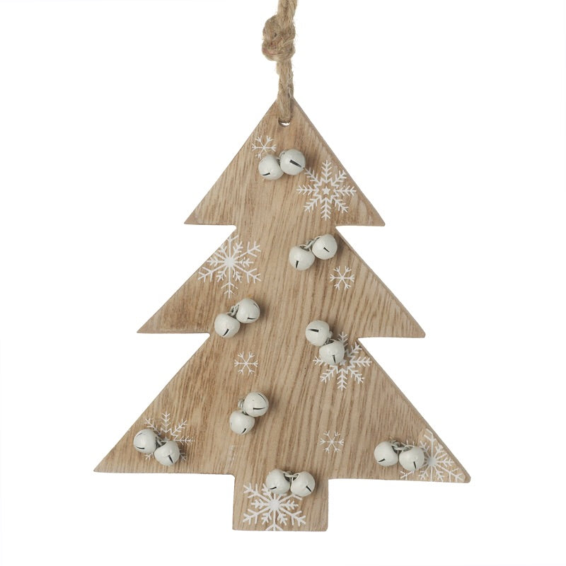 Wooden Tree with Bells