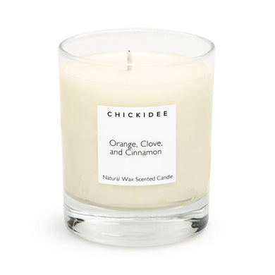 Orange clove and Cinnamon Scented Candle