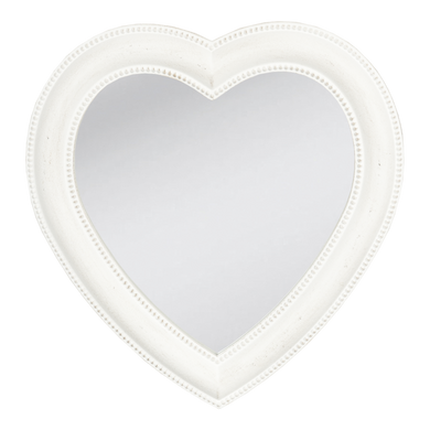 Antique Style Heart Mirror