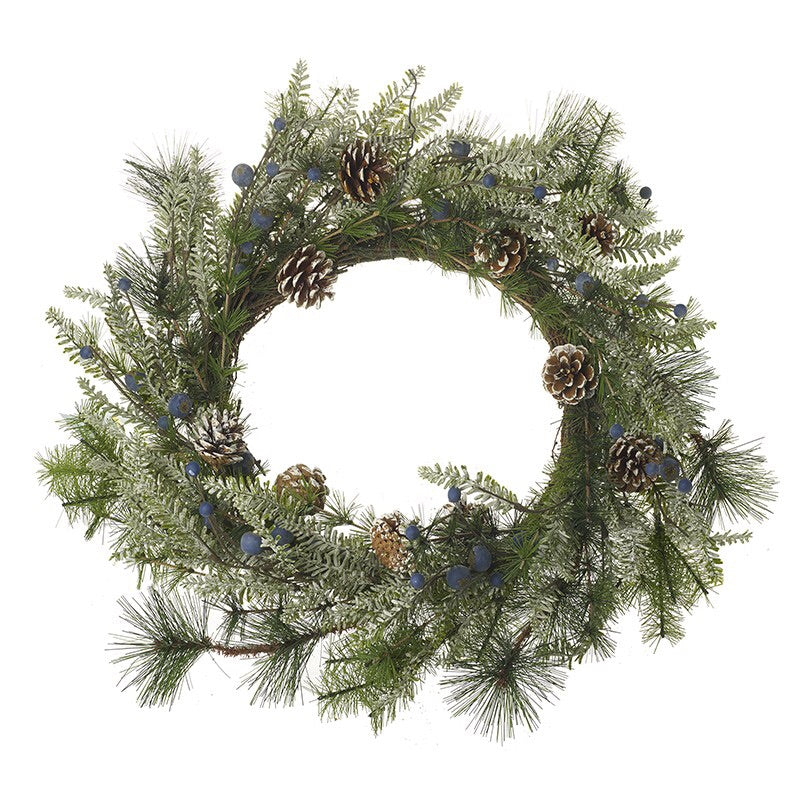 Large Fir & Blueberry Wreath