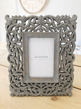 Ornate Grey Frame