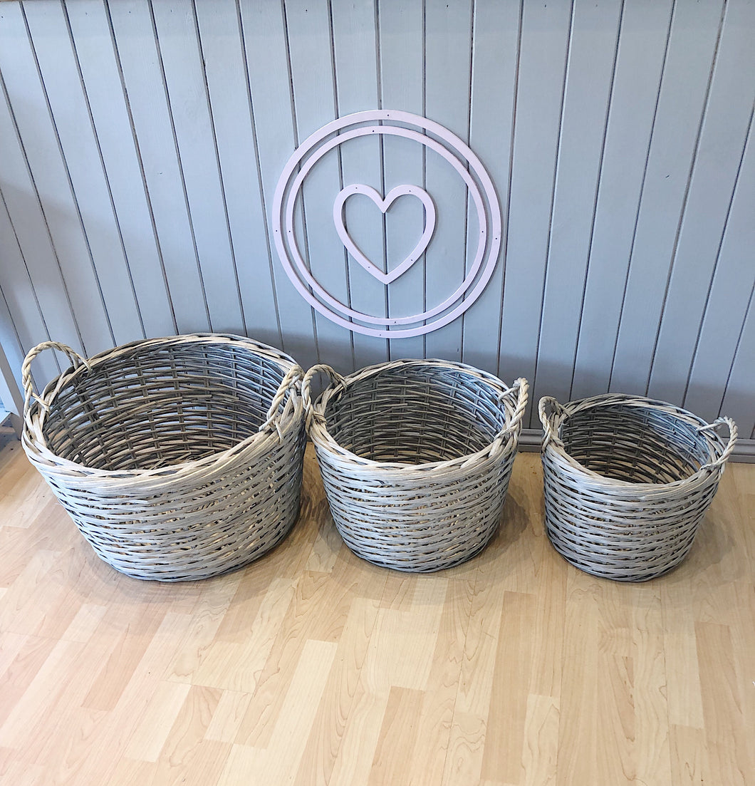 Individual Wicker Basket (3 sizes available)