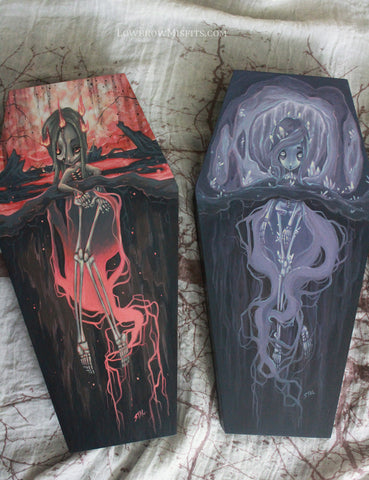 coffin painting