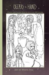 creepers and haunts coloring book