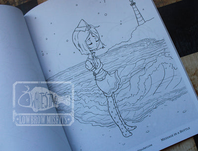 Misfits NAUTICAL Coloring Book No. 5 -Lowbrow misfits White Stag Art