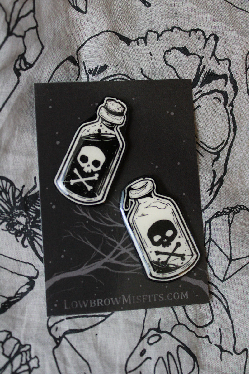 Poison Pin set -Lowbrow misfits White Stag Art