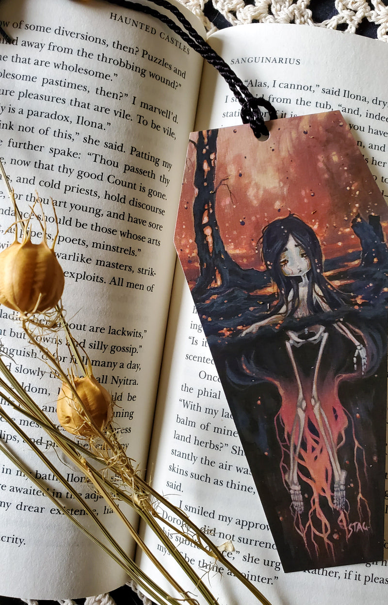 Fertile Soils: Ash  Bookmark -Lowbrow misfits White Stag Art