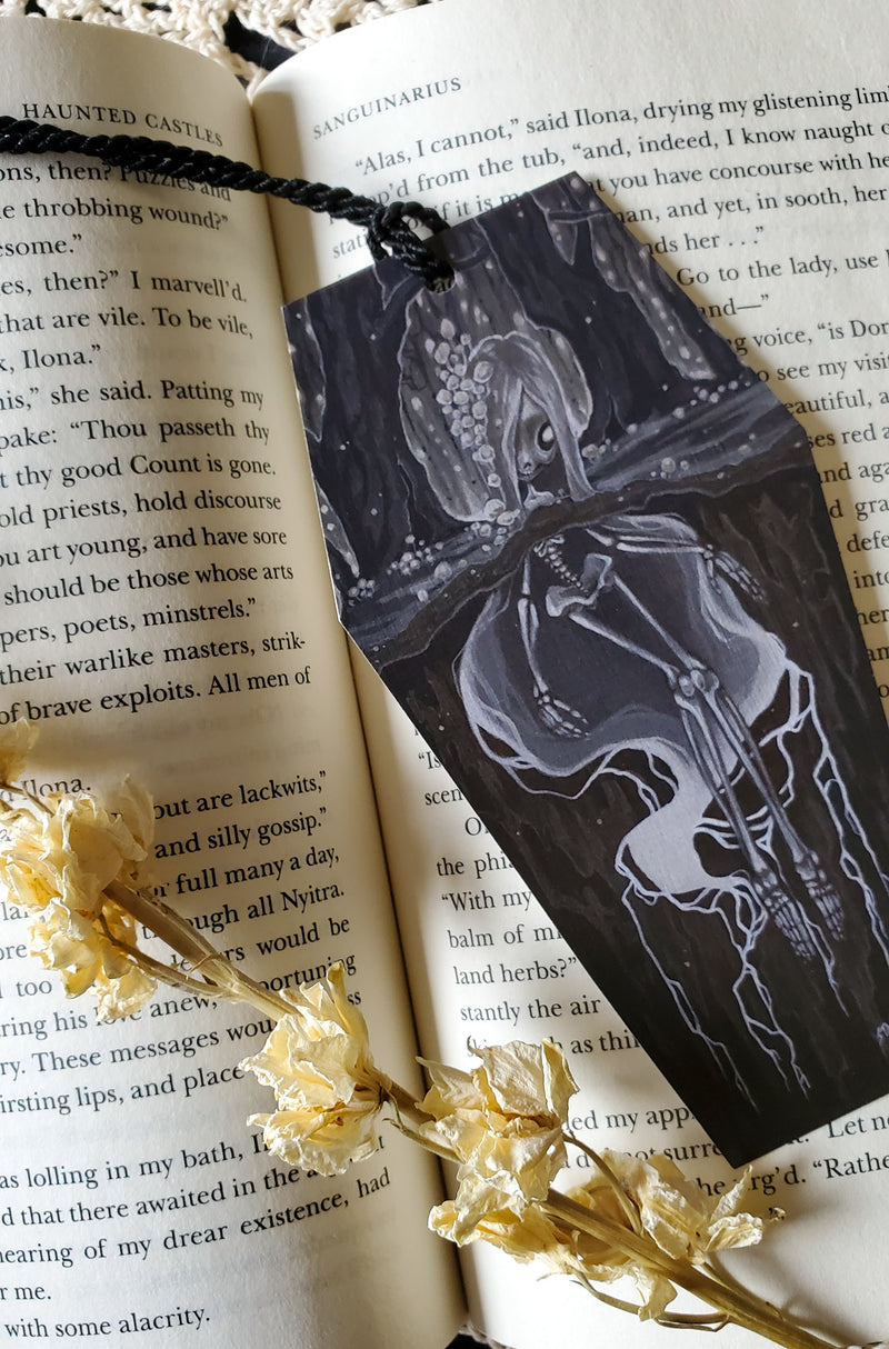 Fertile Soils: Blight  Bookmark -Lowbrow misfits White Stag Art