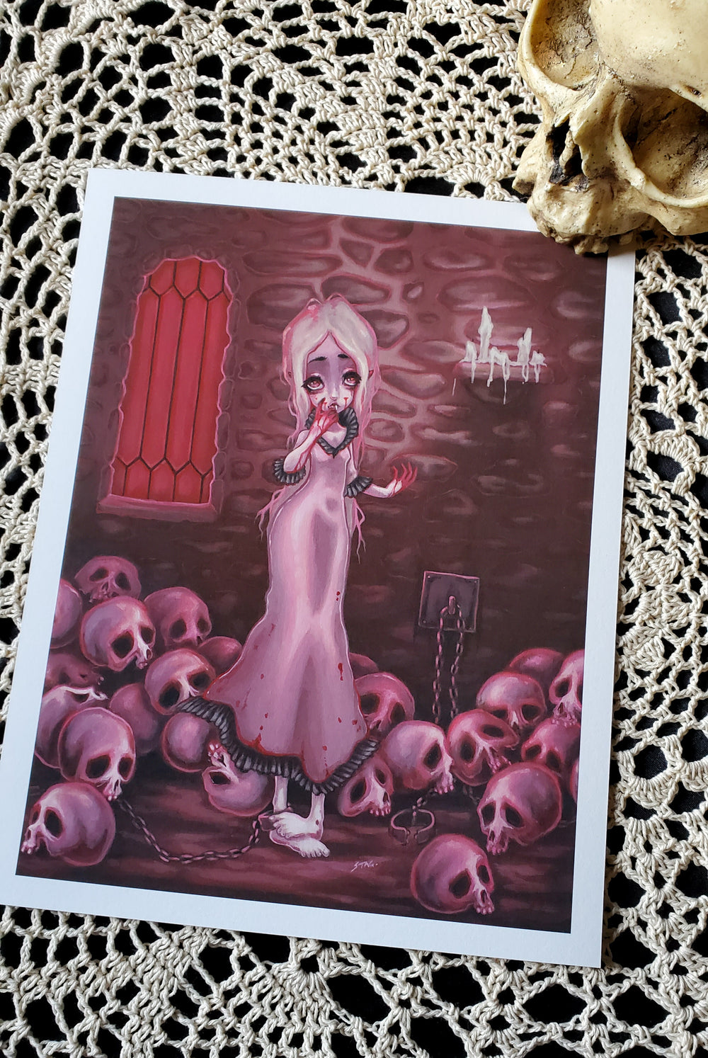 The Countess - Print -Lowbrow misfits White Stag Art