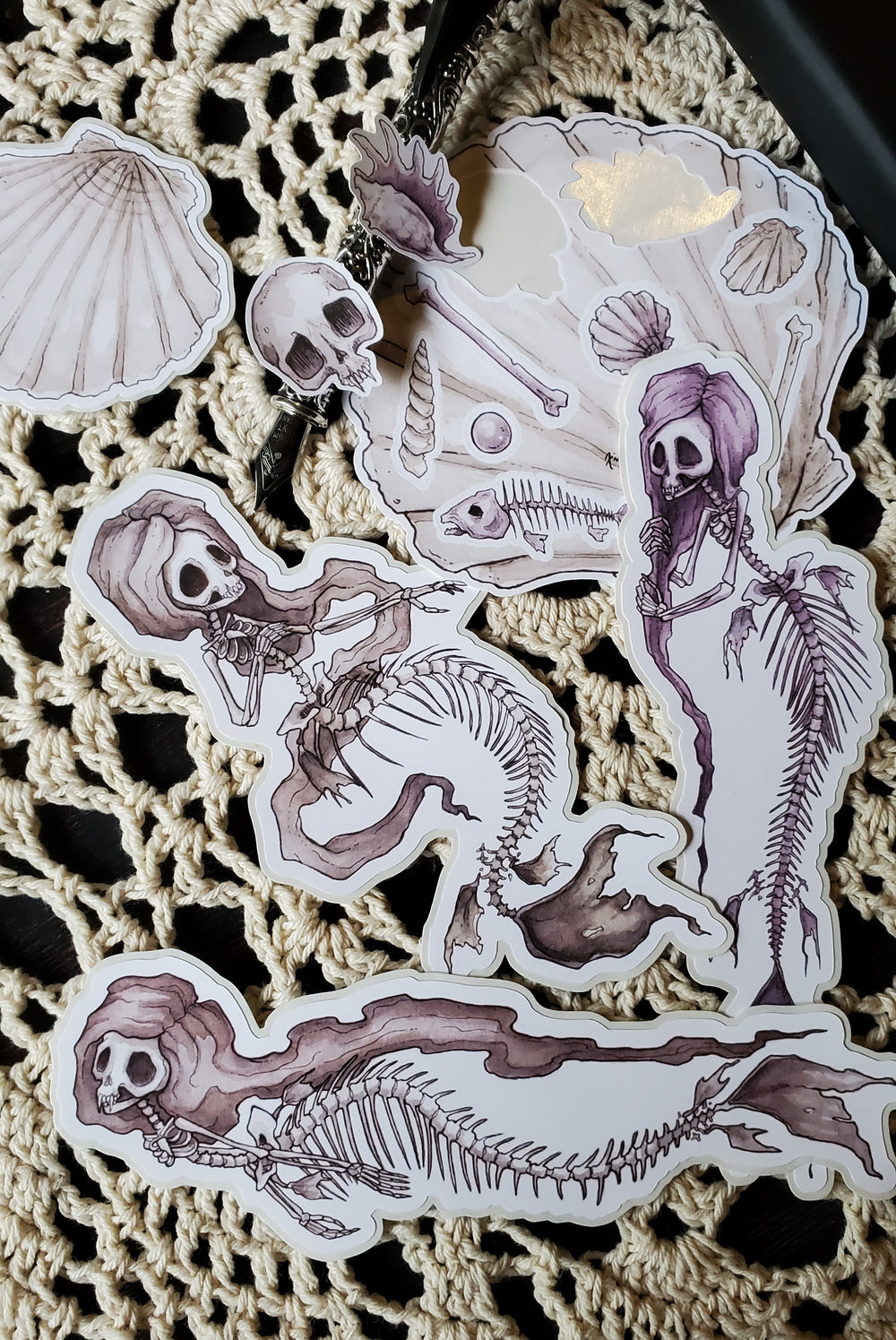 Fish Bones sticker pack
