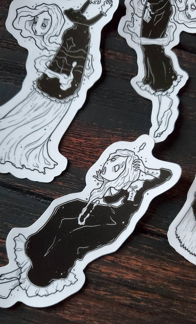 Banshee ghost STICKER pack