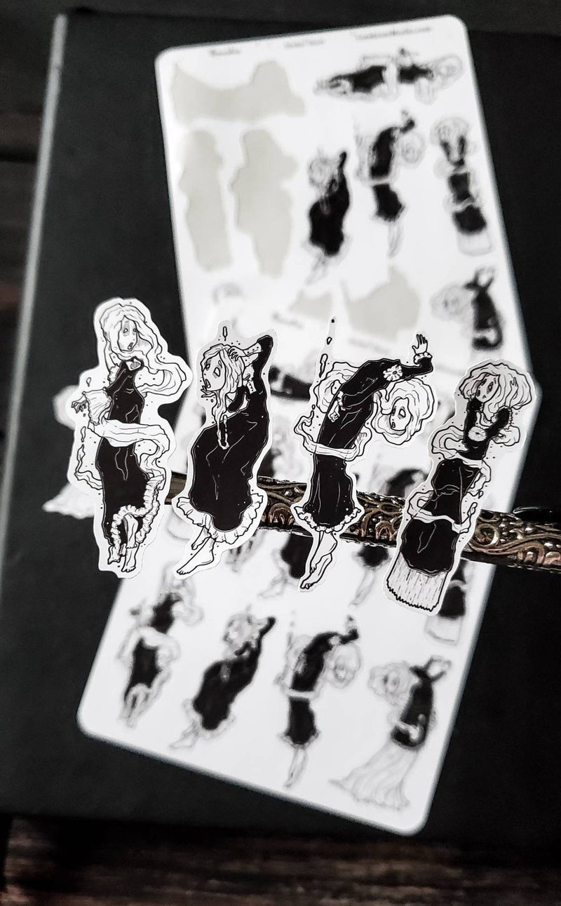Banshee Ghost STICKER sheet