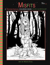 Misfits Winter Fantasy coloring book No. 10