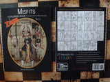 Misfits- A Zombie Coloring Book for Adults and ODD Children Vol. 2 -Lowbrow misfits White Stag Art