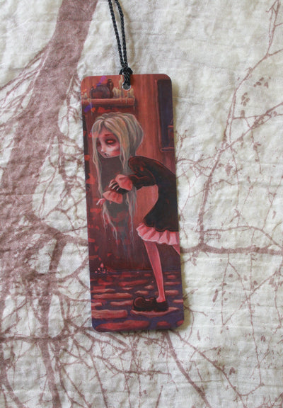 The Creeper Holographic Bookmark -Lowbrow misfits White Stag Art