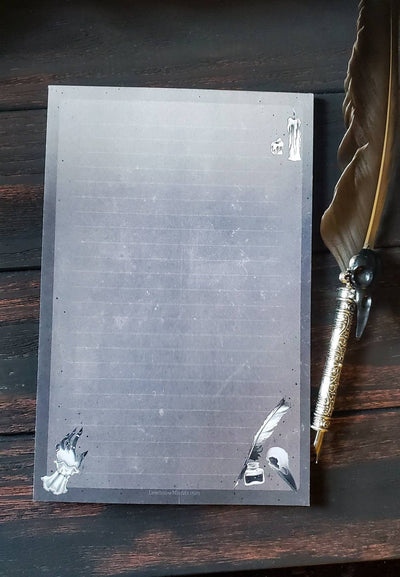 Dark Poet Notepad SET
