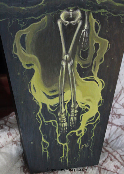 Fertile Soils Corruption original painting -Lowbrow misfits White Stag Art