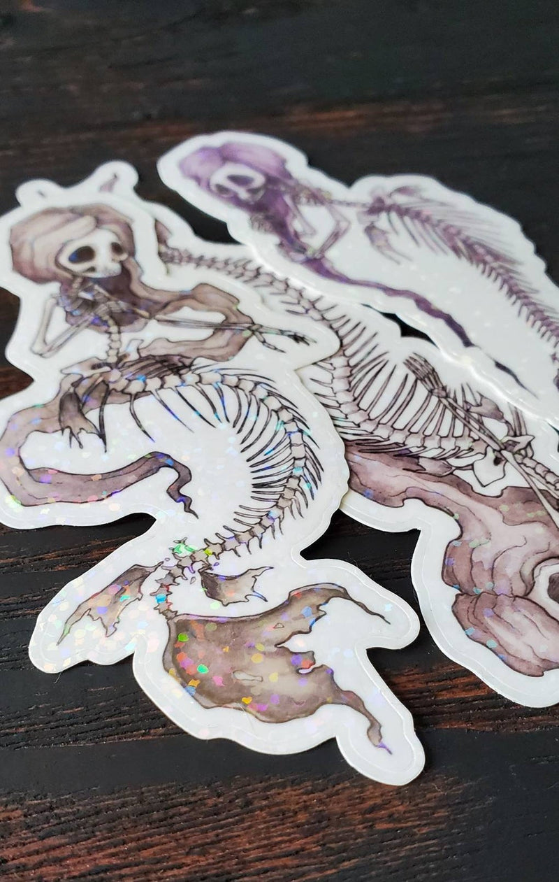 Fish Bones holo sticker pack