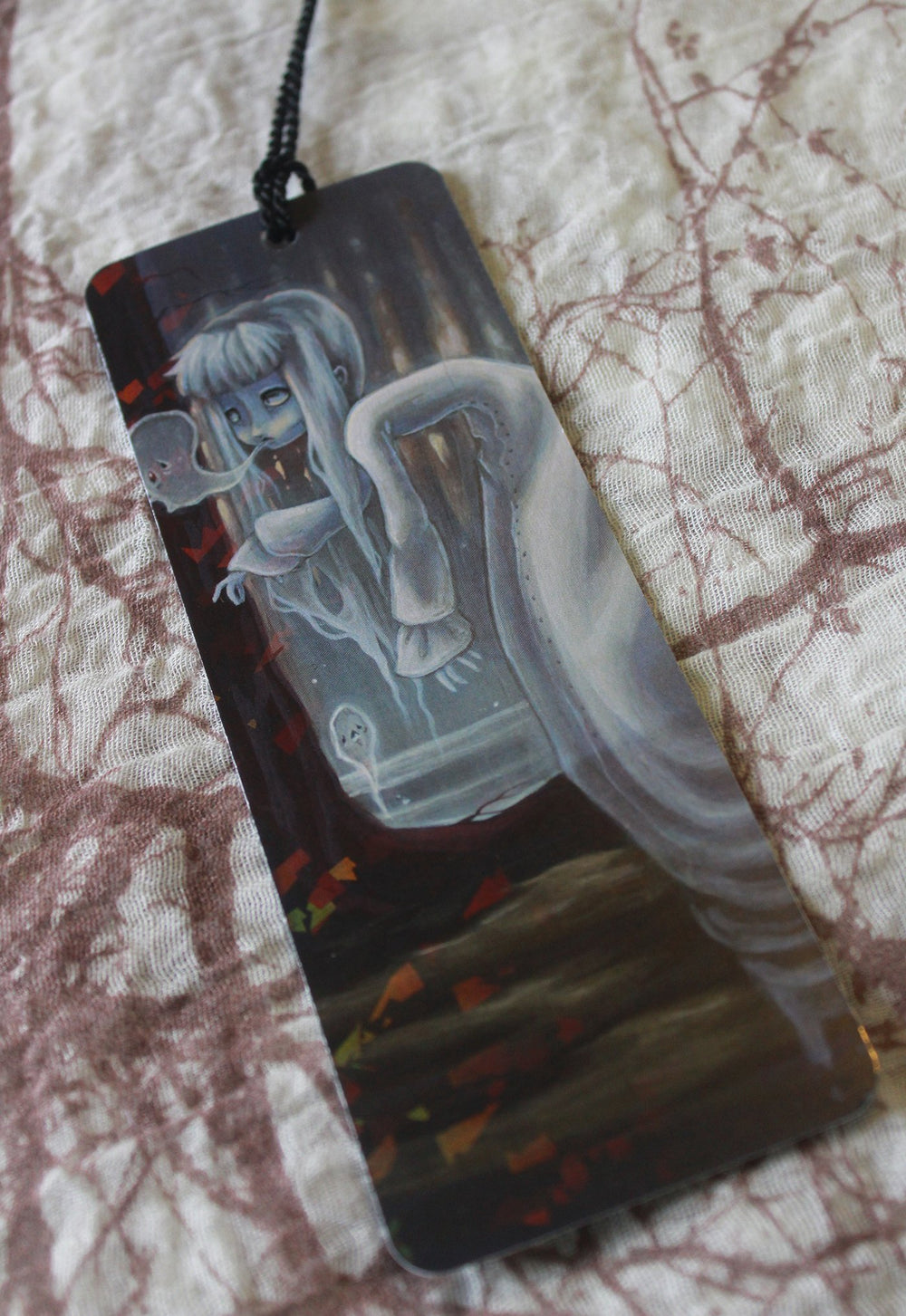 The Haunter Holographic Bookmark -Lowbrow misfits White Stag Art