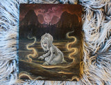 Miasma-  ORIGINAL painting -Lowbrow misfits White Stag Art