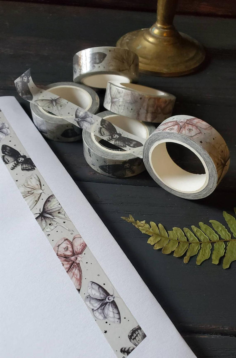 Moon moth WASHI tape