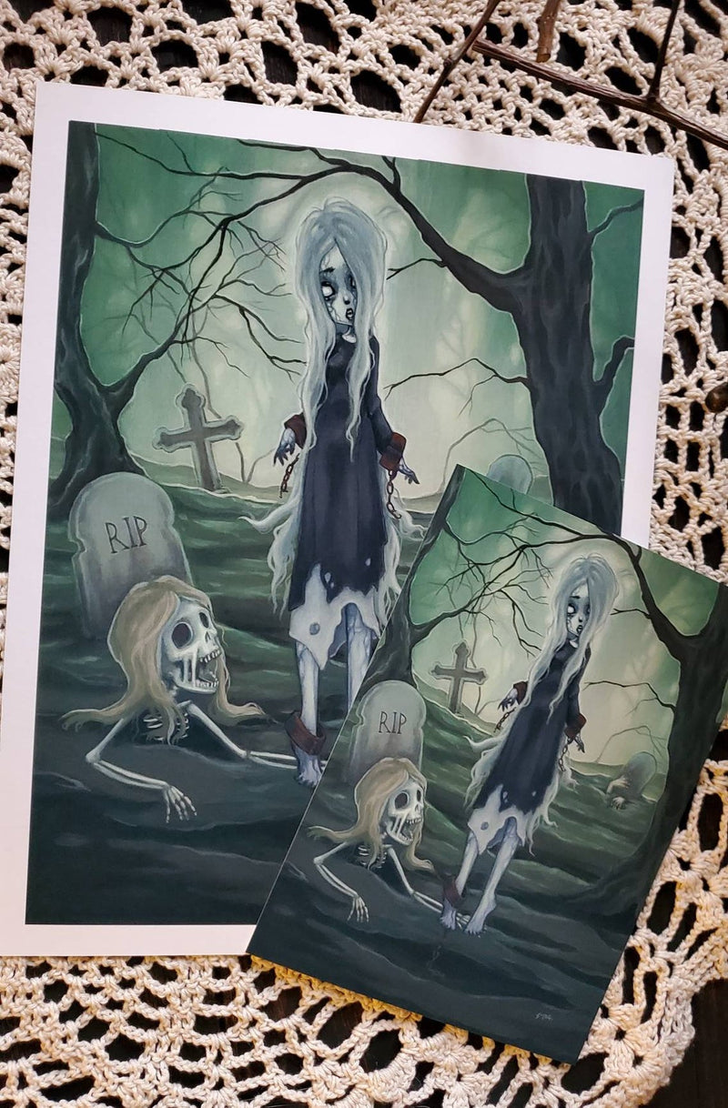 The Necromancer- art Print