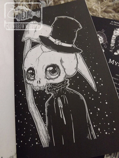 Mystic Misfit Mini Coloring Book -Lowbrow misfits White Stag Art