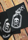 Poison Fabric Patch -Lowbrow misfits White Stag Art