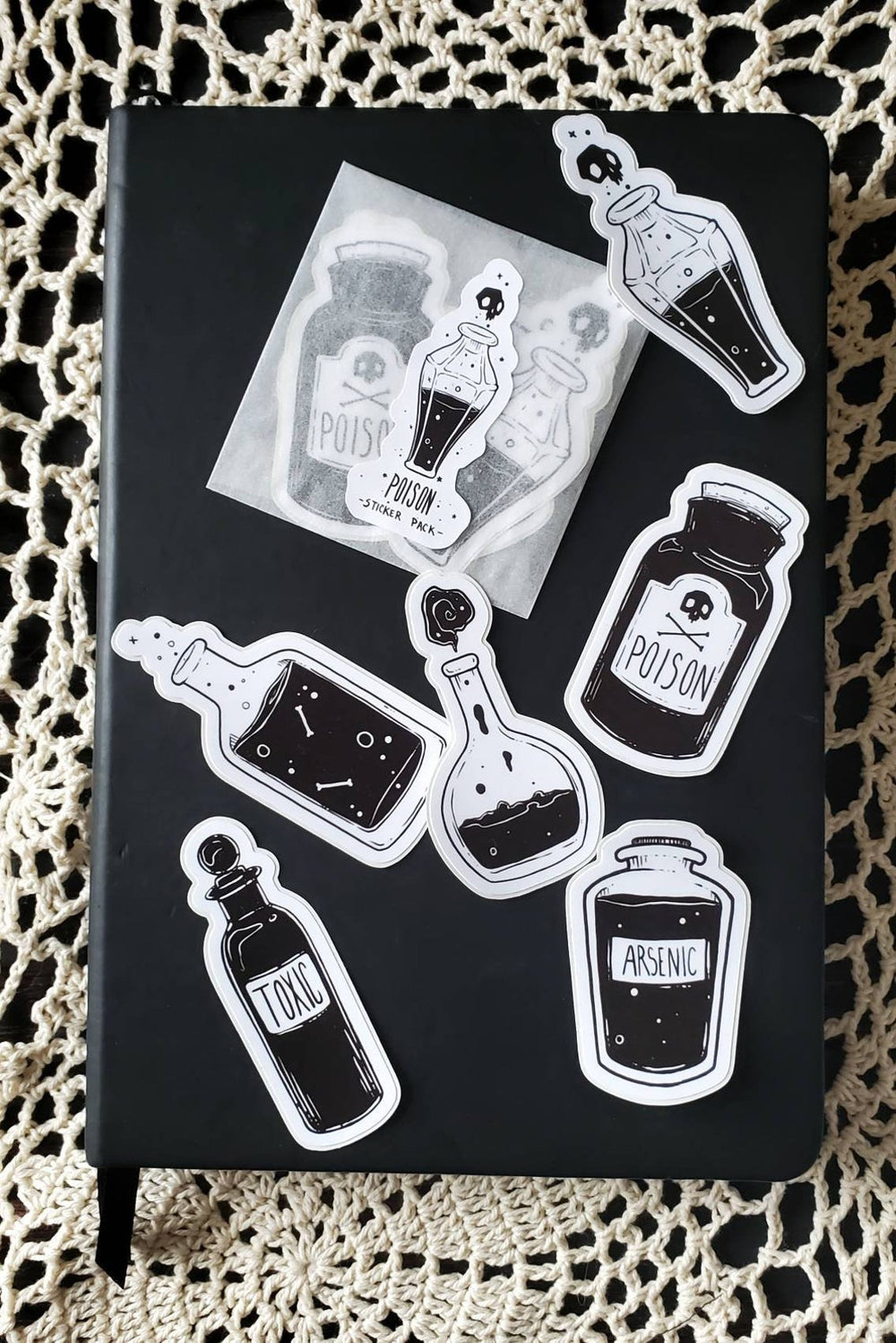 Poison STICKER pack