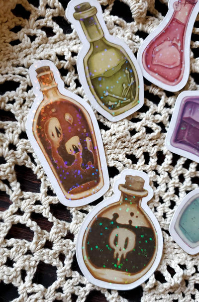 Magical Potion holo STICKER pack