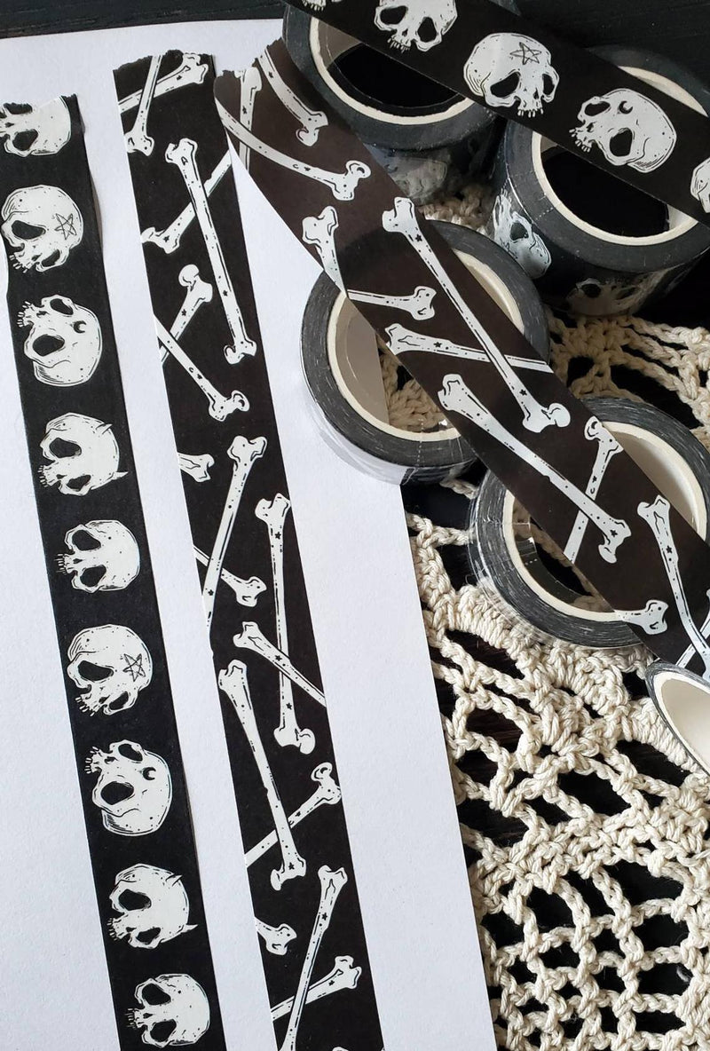 Skull and Bone WASHI tape
