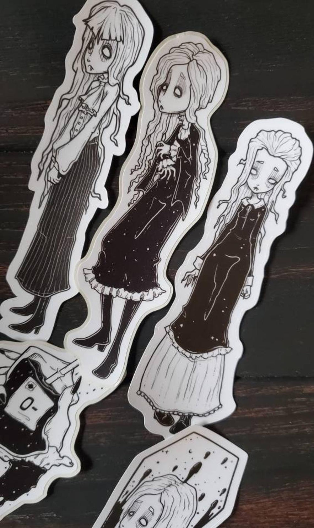 Vampire STICKER pack