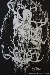 Wendigo serigraph limited edition screen print