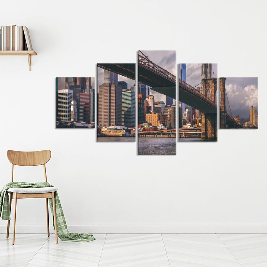 Brooklyn Bridge Canvas Set