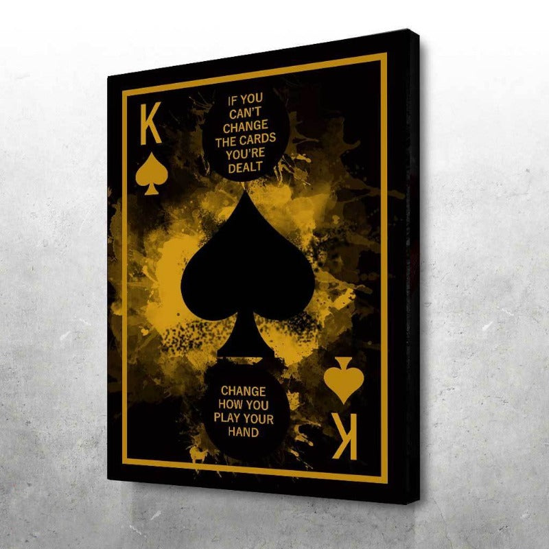 KING OF SPADES - CHANGE HOW YOU PLAY
