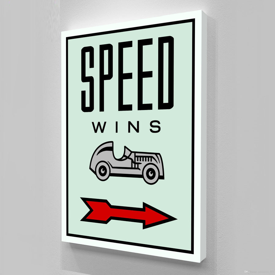 SPEED WINS