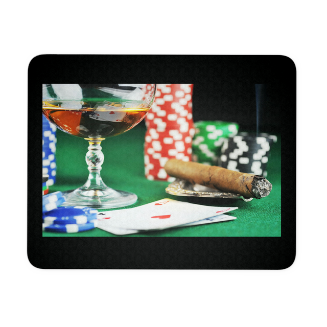 Online Gamblers Mouse Pad